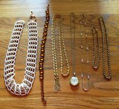 Vintage Necklaces, Belts, Lucerne Watch in Lockport, Illinois