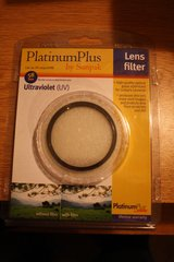 New Platinum Plus Ultraviolet Lens Filter, Still in original package in Lockport, Illinois