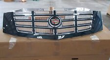 GM OEM CADILLAC ESCALADE GRILLE -- BLACK W/CHROME TRIM 2007 - 2012 in Lawton, Oklahoma