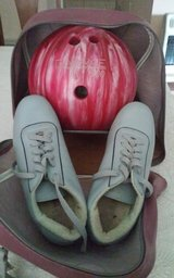 Bowling Ball, Bag & Shoes in Conroe, Texas
