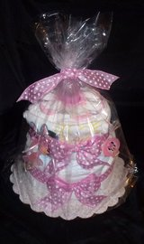 Minnie Mouse Diaper Cake - $30.00 in Spring, Texas