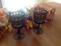 8 Brown water goblets in Glendale Heights, Illinois