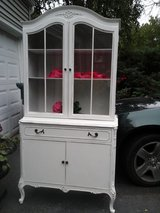 Feminine french china cabinet in Plainfield, Illinois
