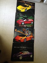 Set of Race Car Posters in Alamogordo, New Mexico