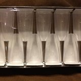 12 NIB Mozaik Disposable Champagne Flutes in Chicago, Illinois