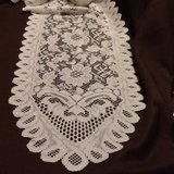 "Lace Ivory Table Runner 13"" x 120"" in Chicago, Illinois"