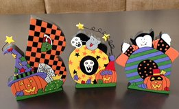 Decorated BOO Letters – Hand Painted in Wheaton, Illinois