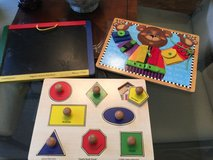 Wooden Toddler Puzzles, Etc. in Houston, Texas
