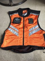 Icon Motorcycle vest in Okinawa, Japan