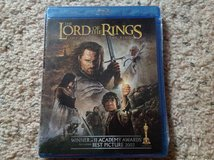Lord of the Rings III BluRay in Camp Lejeune, North Carolina