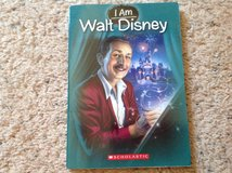 I Am WALT DISNEY Book in Camp Lejeune, North Carolina
