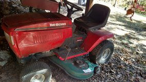 Riding mower in Lake of the Ozarks, Missouri