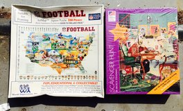 2 vintage puzzles unopened in Houston, Texas