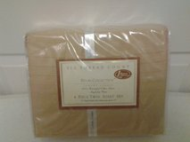 NEW - 4pc 310 thread count Twin Sheet Set in Eglin AFB, Florida