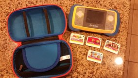 MobiGo with case and 4 games in Kingwood, Texas