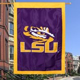"***BRAND NEW***LSU Tigers 28"" x 44"" Applique Flag*** in Cleveland, Texas"