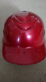 Rawlings Coolflo Batting Helmet (Red) (T=12) in Clarksville, Tennessee
