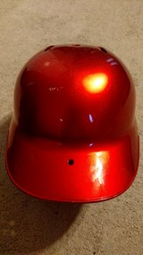 Rawlings AVT Baseball/Softball Batting Helmet-One Size-Metallic Red (T=45) in Fort Campbell, Kentucky