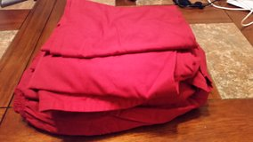 Red Twin Sheet Bedding Set in Fort Rucker, Alabama