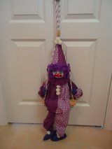 Handmade Hanging Clown on Swing 1 in Warner Robins, Georgia