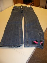Girls Size 9 Jeans with Scotties on pant leg from Gymboree in Palatine, Illinois