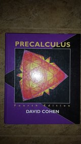 Precalculus A Problems-Oriented Approach, Fourth Edition, Hardback Plus Accompanying Student Sol... in Kingwood, Texas