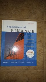 Foundations of Finance, Hardback, Sixth Edition in Kingwood, Texas