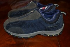 NEW!!! BOYS Polo Sport Slip On Sneakers Zip Shoes Size 7 in Camp Lejeune, North Carolina