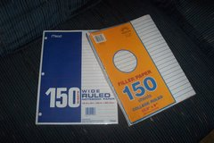 Notebook and spirals in Conroe, Texas