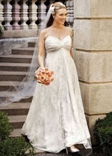 David's Bridal Galina Ivory Gown SZ 16W in Lackland AFB, Texas