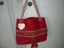 Red purse in Ramstein, Germany