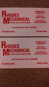 Rhodes Mechanical Heating, Air Conditioning and Refrigeration in Warner Robins, Georgia