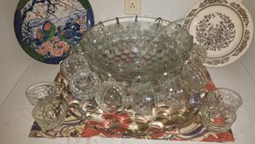Whitehall punch bowl in League City, Texas