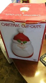 New / Santa Cut Outs Cookie Jar in Fort Campbell, Kentucky