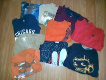 Cute10 PC Size 5/6  Boys Shirts Lot 31 in Chicago, Illinois
