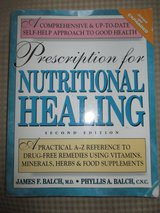 Prescription For Nutritional Healing Second Edition 1997 James and Phyllis Balch in Oswego, Illinois