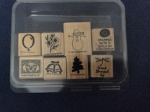 Assorted rubber stamps in Alamogordo, New Mexico