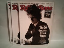 NEW ROLLING STONE BOB DYLAN in Batavia, Illinois