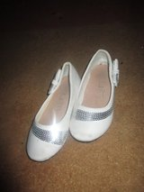 Nice girl shoes...color white/silver...size 26 in Ramstein, Germany