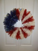 "New 20"" Homemade Patriotic Wreath in Macon, Georgia"