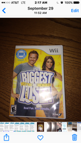 Biggest looser Wii in Fort Leonard Wood, Missouri
