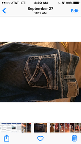 Silver womens jeans in Fort Leonard Wood, Missouri