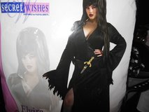 ELVIRA Halloween costume size 14-16 in Algonquin, Illinois