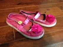Girls hot pink glitter shoes size 13C in Houston, Texas