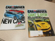"New ""Car And Driver"" Magazines -- September & October Issues in Houston, Texas"