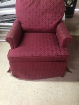 burgundy chair in Leesville, Louisiana