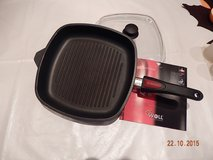 WOLL Grill fry pan with lid. Used in Ramstein, Germany