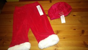 santa pants & hat/Christmas in The Woodlands, Texas