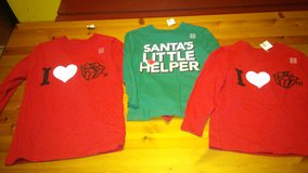 Christmas shirts in Spring, Texas