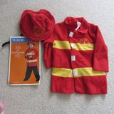 fireman costume 12-24 months in Bolingbrook, Illinois